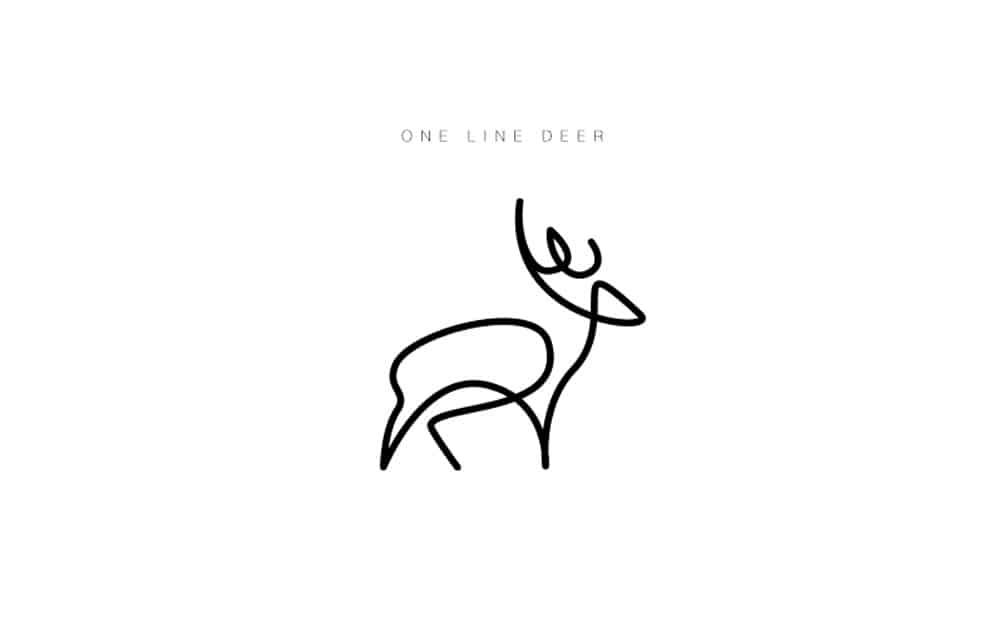 desenhos-minimalistas-animais-differantly-cervo