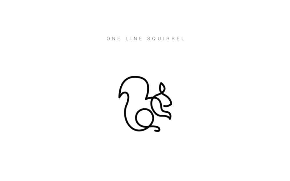 desenhos-minimalistas-animais-differantly-esquilo