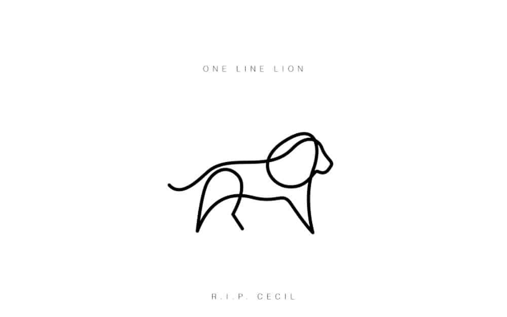 desenhos-minimalistas-animais-differantly-leao