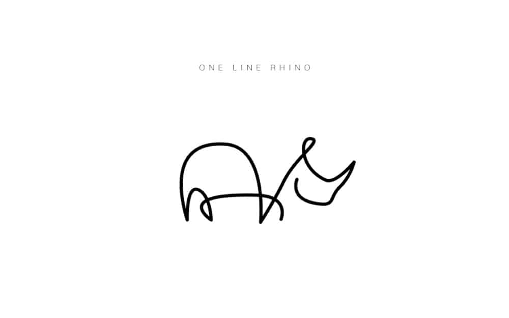desenhos-minimalistas-animais-differantly-rinoceronte
