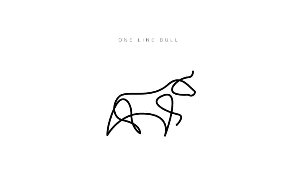 desenhos-minimalistas-animais-differantly-touro