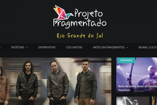 Site Projeto Fragmentado